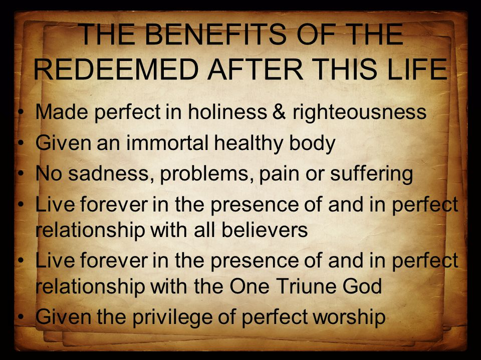 TRUTH FOR THE REDEEMED What then shall we say to these things.