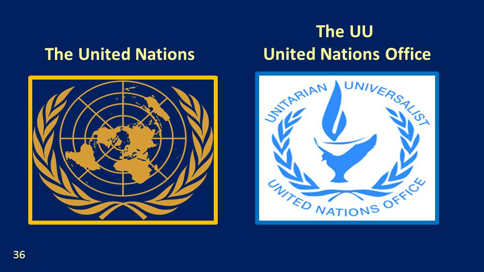 The United Nations The UU United Nations Office 36