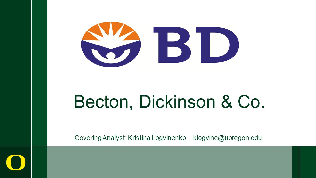 Becton, Dickinson & Co.  Medical devices  Instrument systems  Reagents