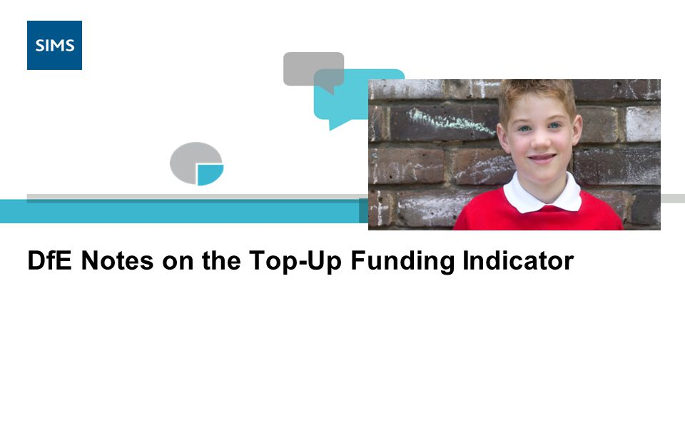 DfE has provided the following notes on the Top-Up Funding Indicator 1.A true/false flag is being introduced to indicate those pupils on roll on Census Day for whom a school receives top-up funding from the local authority, or in the case of a PRU the top-up funding could be from a local authority or a school.