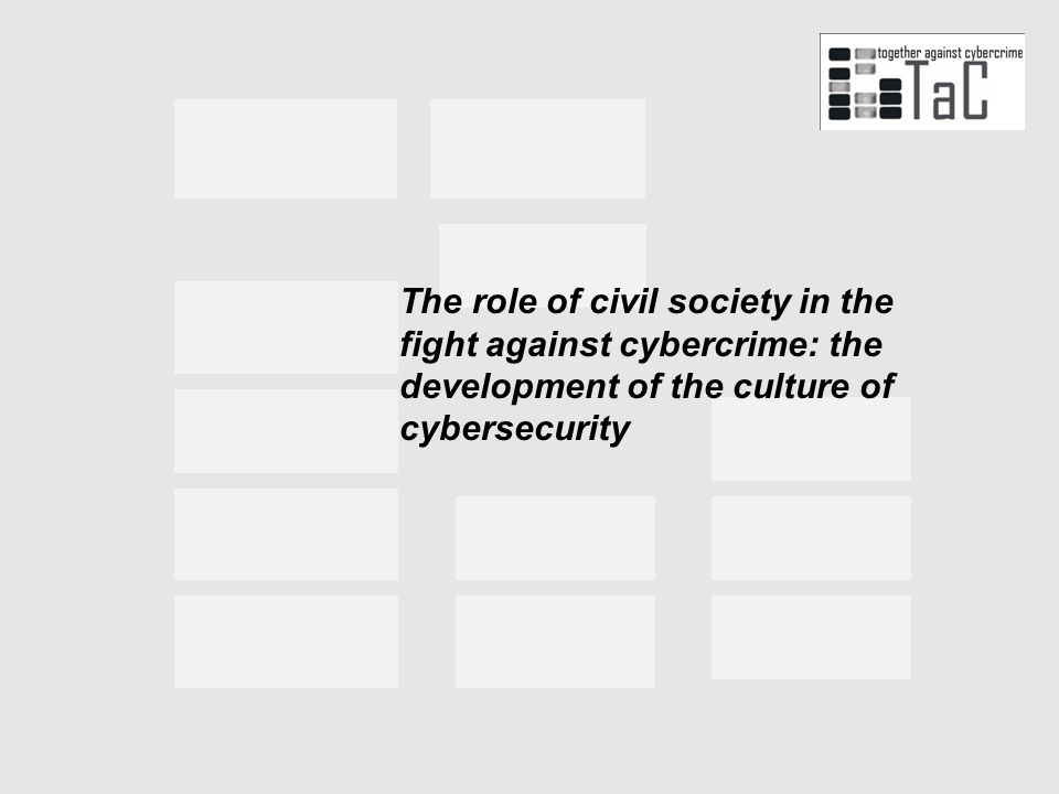 The role of civil society in the fight against cybercrime: the development of the culture of cybersecurity