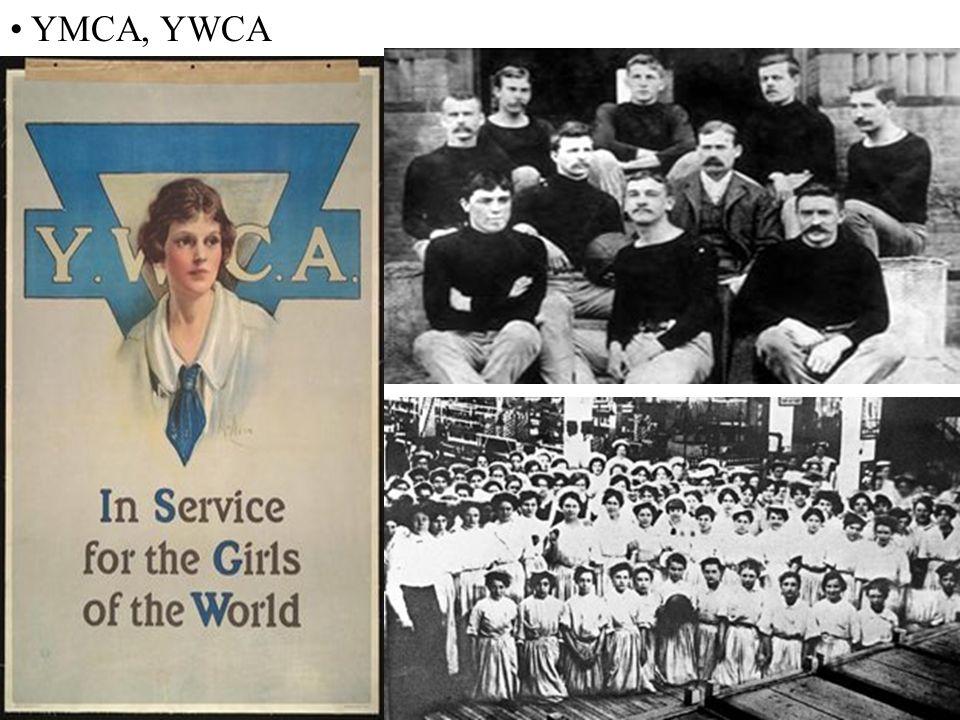 YMCA, YWCA