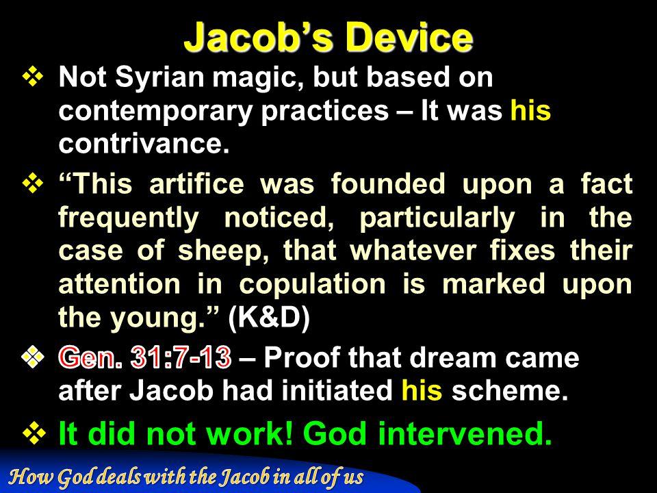 Jacob's Device