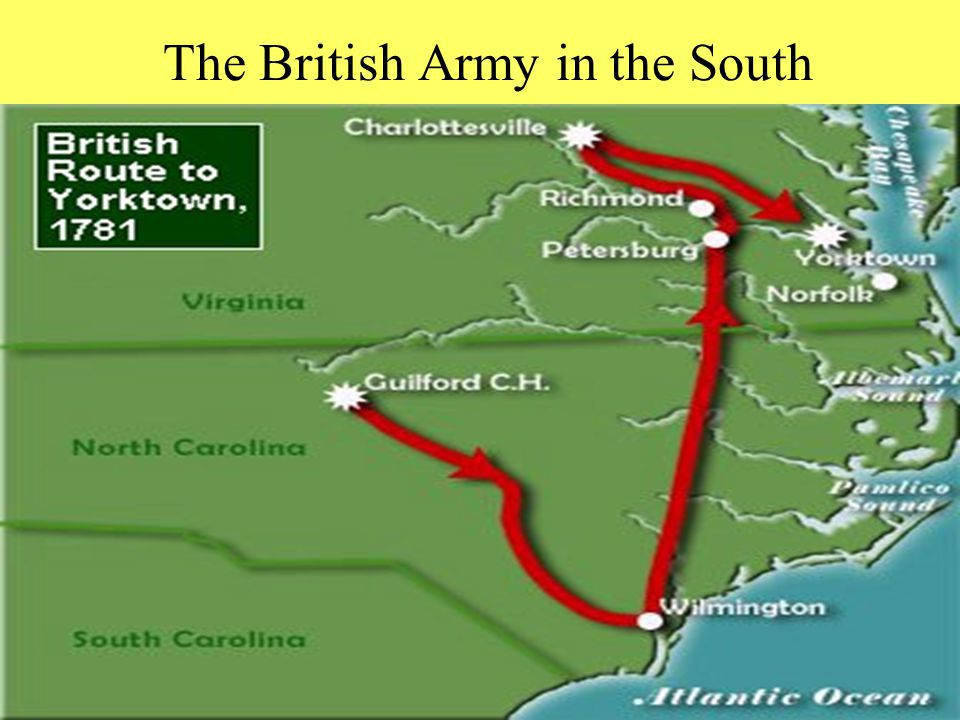 The British Army in the South