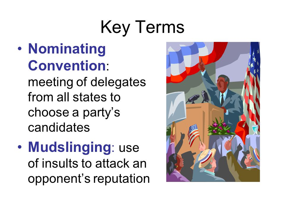 Political Rallies New politics in the 1840s led to both parties competing for votes by holding rallies