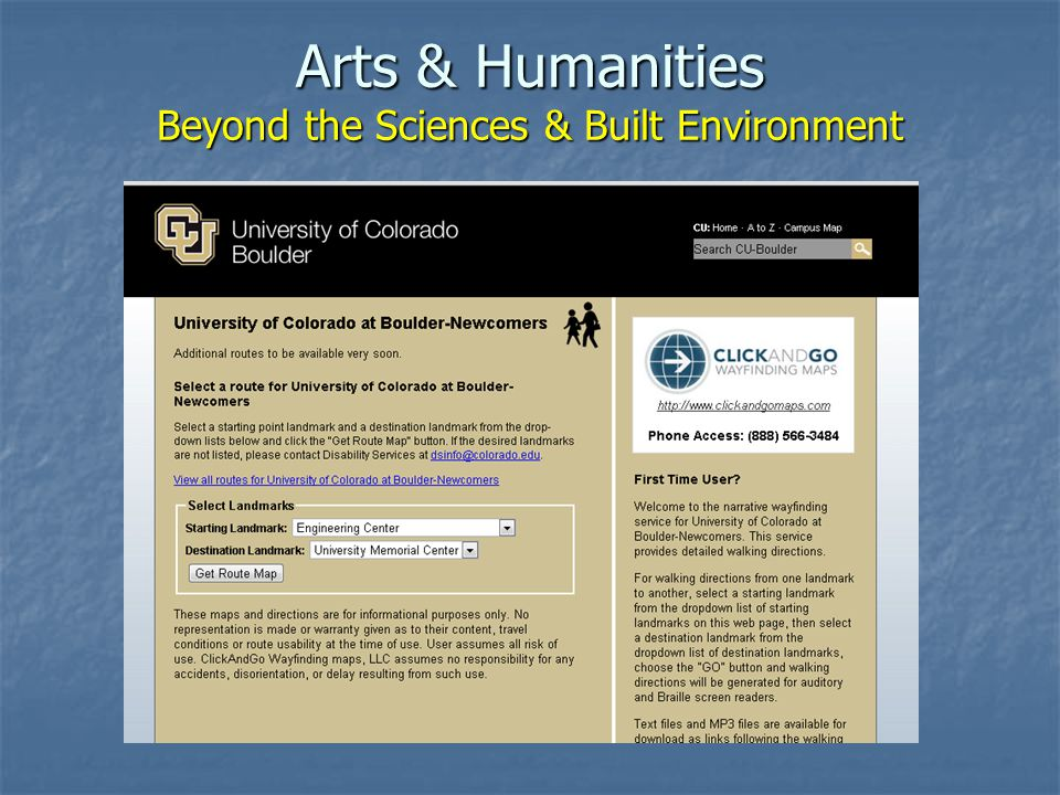 Arts & Humanities Beyond the Sciences & Built Environment