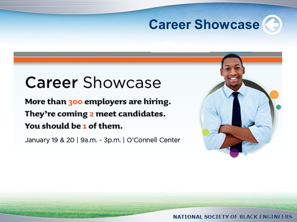 Career Showcase NATIONAL SOCIETY OF BLACK ENGINEERS