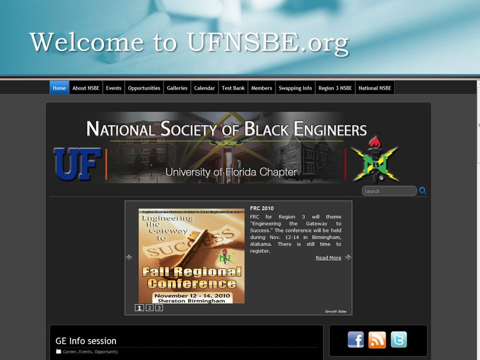 Welcome to UFNSBE.org