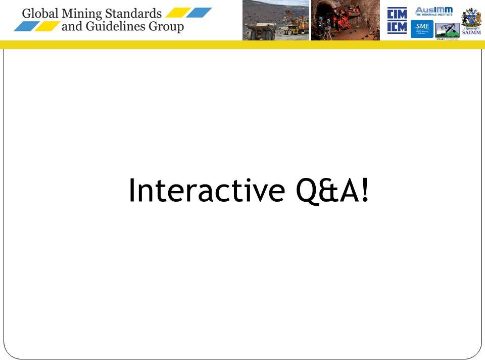 Interactive Q&A!