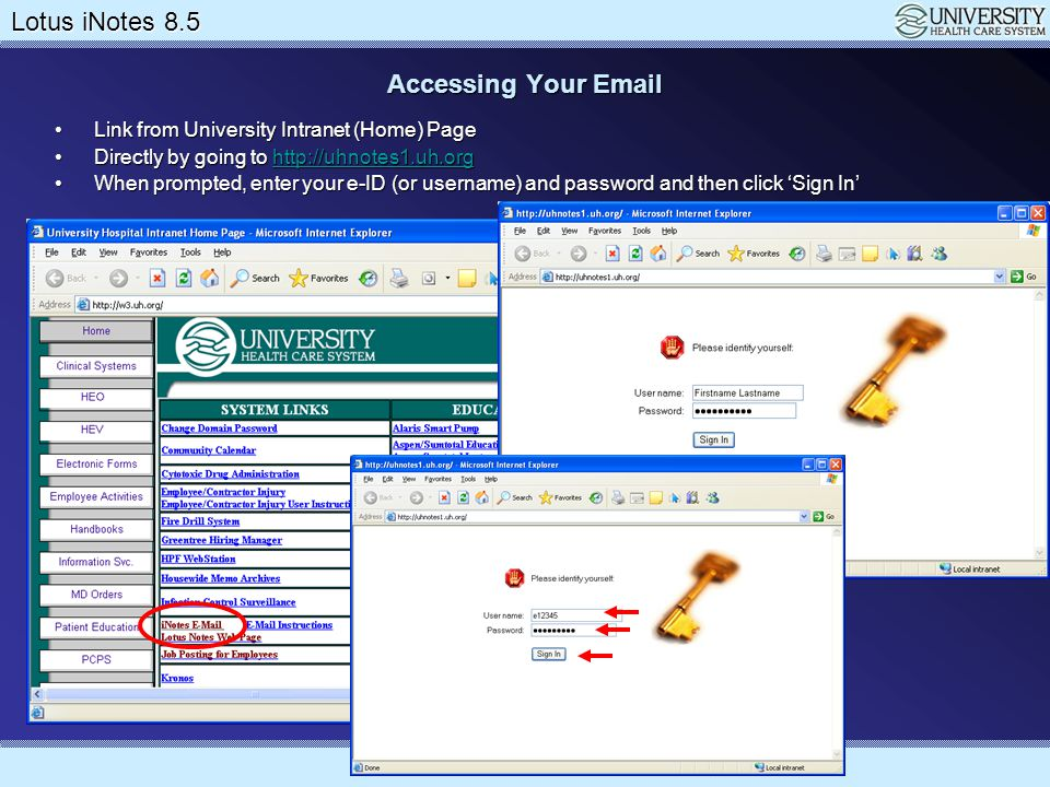 Lotus Notes 8.5 Upgrade Lotus iNotes 8.5 Working with Preferences We've already discussed the display (launch) optionsWe've already discussed the display (launch) options Do NOT make iNotes your default mail client if you also use Lotus NotesDo NOT make iNotes your default mail client if you also use Lotus Notes