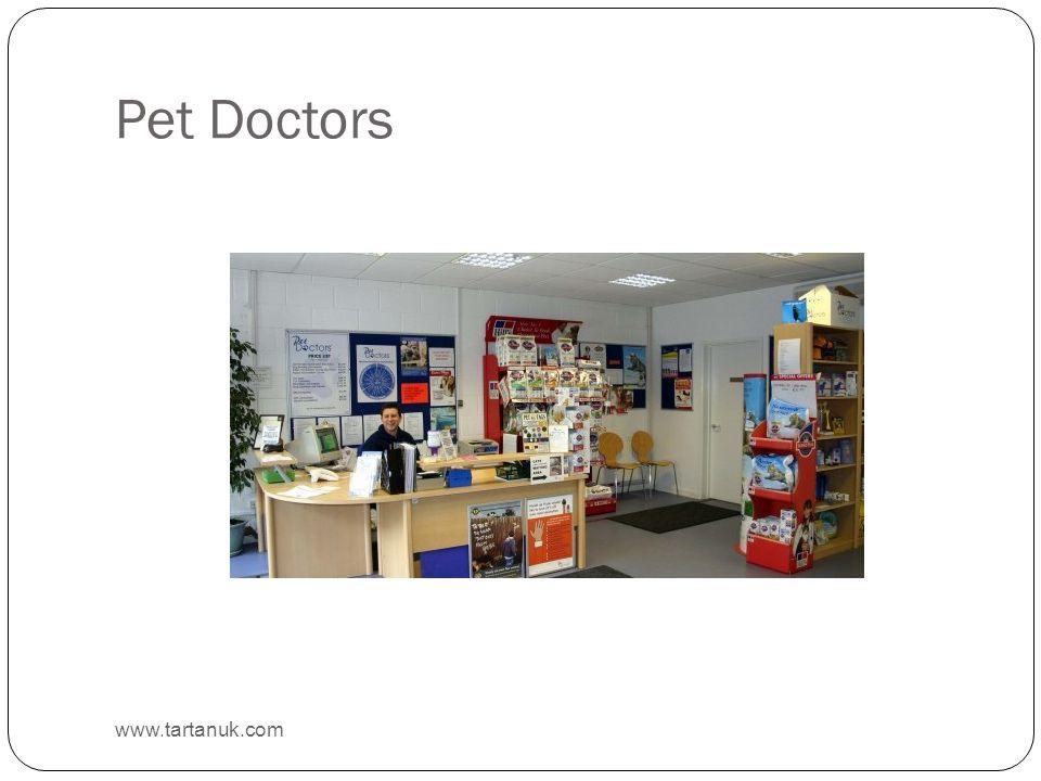 Pet Doctors www.tartanuk.com