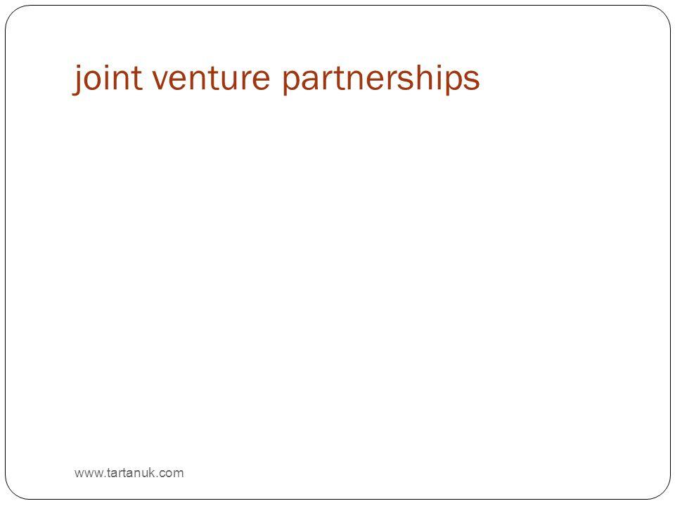 joint venture partnerships www.tartanuk.com