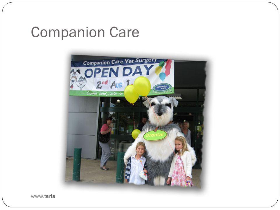 Companion Care www.tartanuk.com