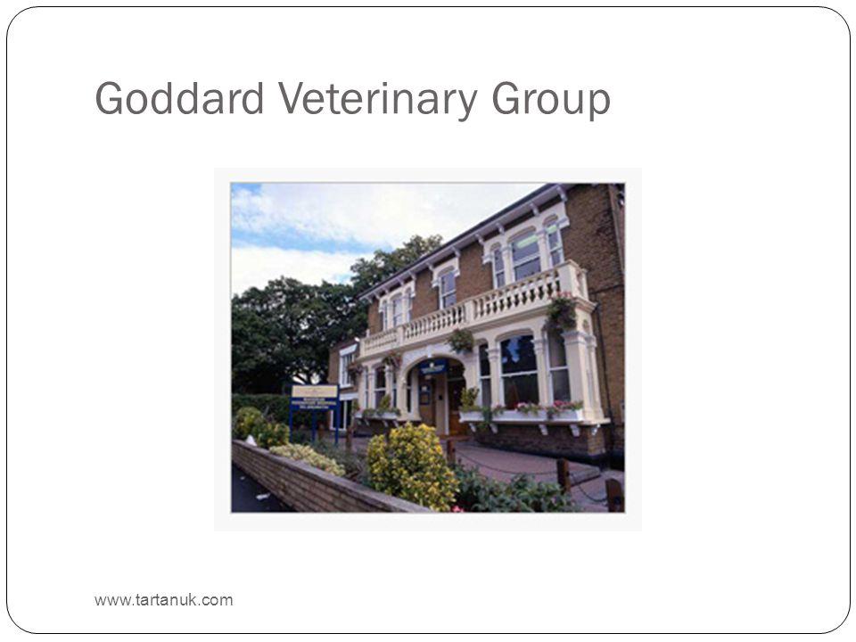 Goddard Veterinary Group www.tartanuk.com