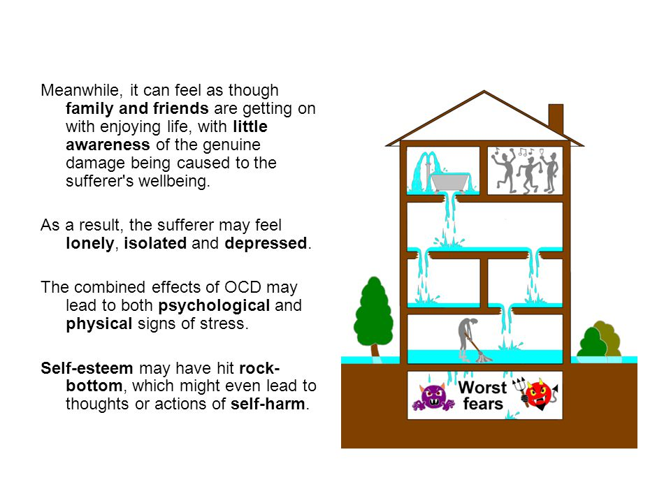 People who are aware of OCD in somebody close to them can help by increasing their knowledge of the condition.