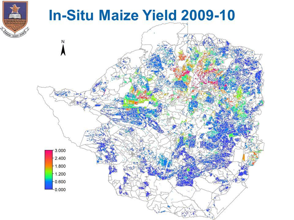 In-Situ Maize Yield 2009-10