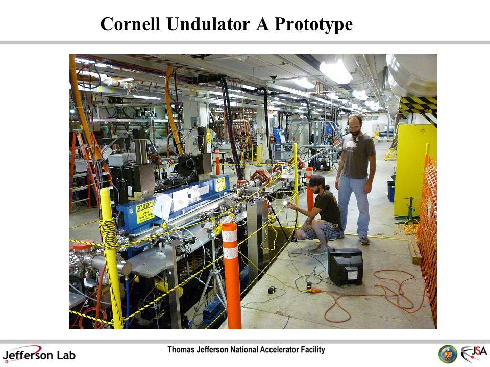 Cornell Undulator A Prototype