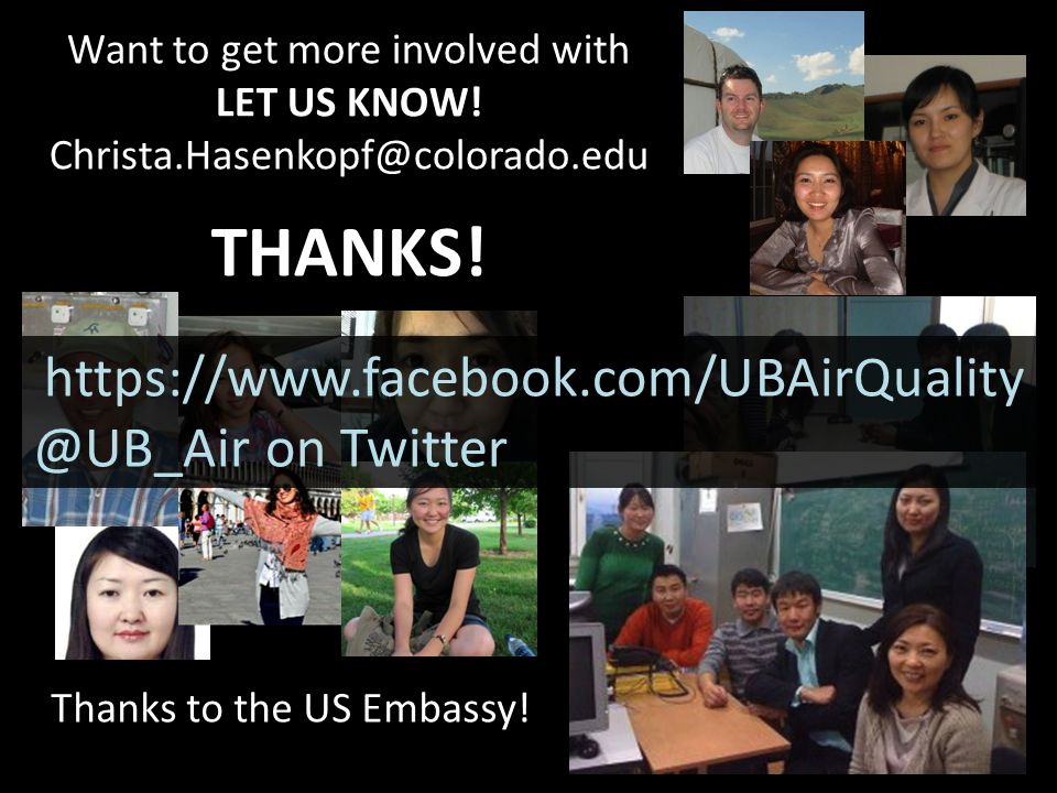 Want to get more involved with LET US KNOW. Christa.Hasenkopf@colorado.edu THANKS.