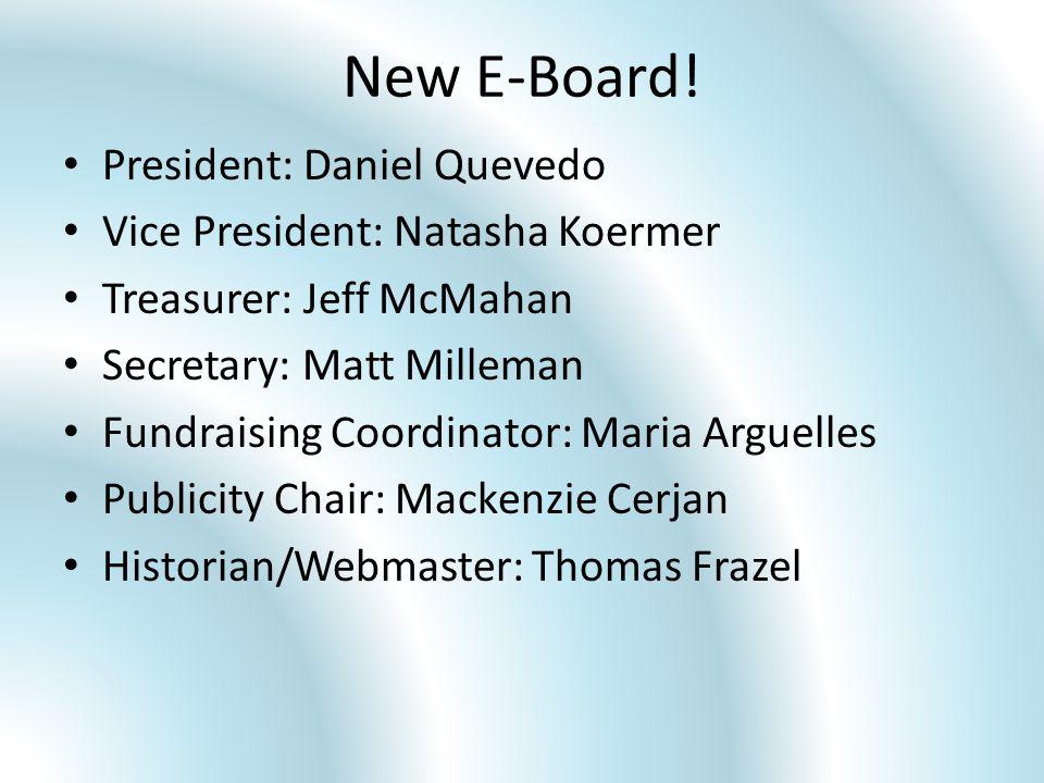 New E-Board.