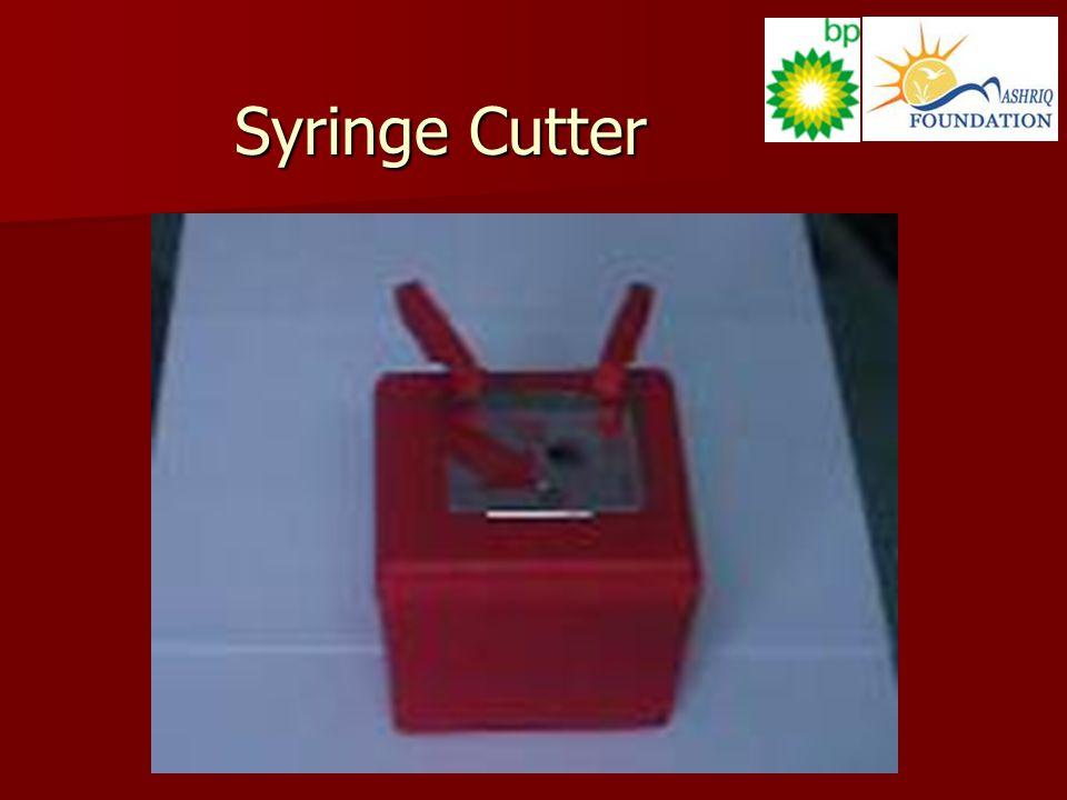 Syringe Cutter