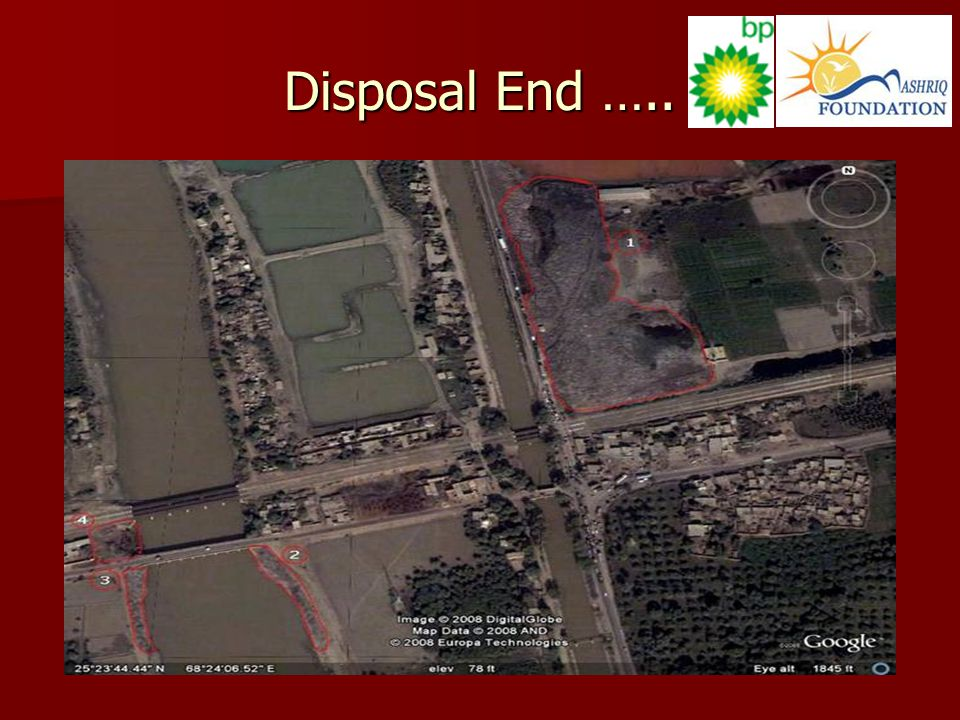 Disposal End …..