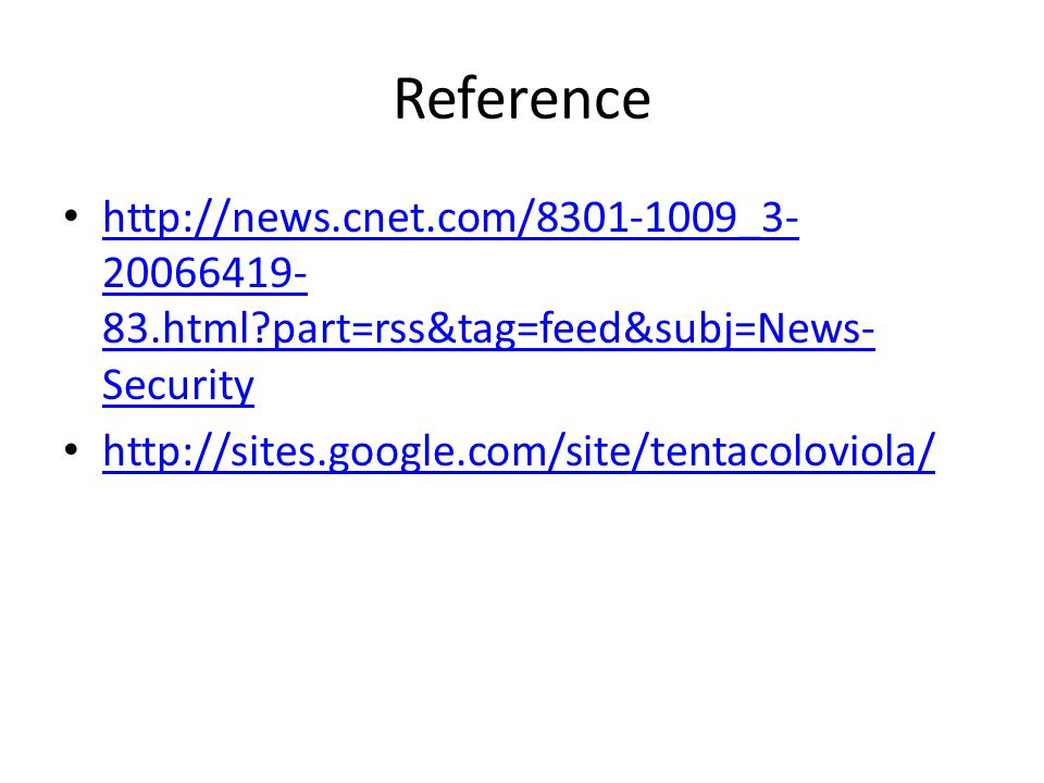 Reference html part=rss&tag=feed&subj=News- Security html part=rss&tag=feed&subj=News- Security