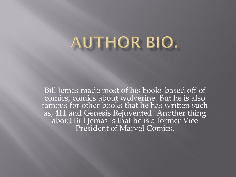  Jemas, Bill  Origin  New York  Marvel Comics  2001 and 2002  Print