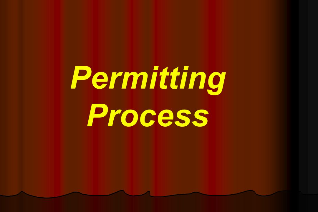 Permit Contents Name and address of the permittee (Facility address that is being permitted).