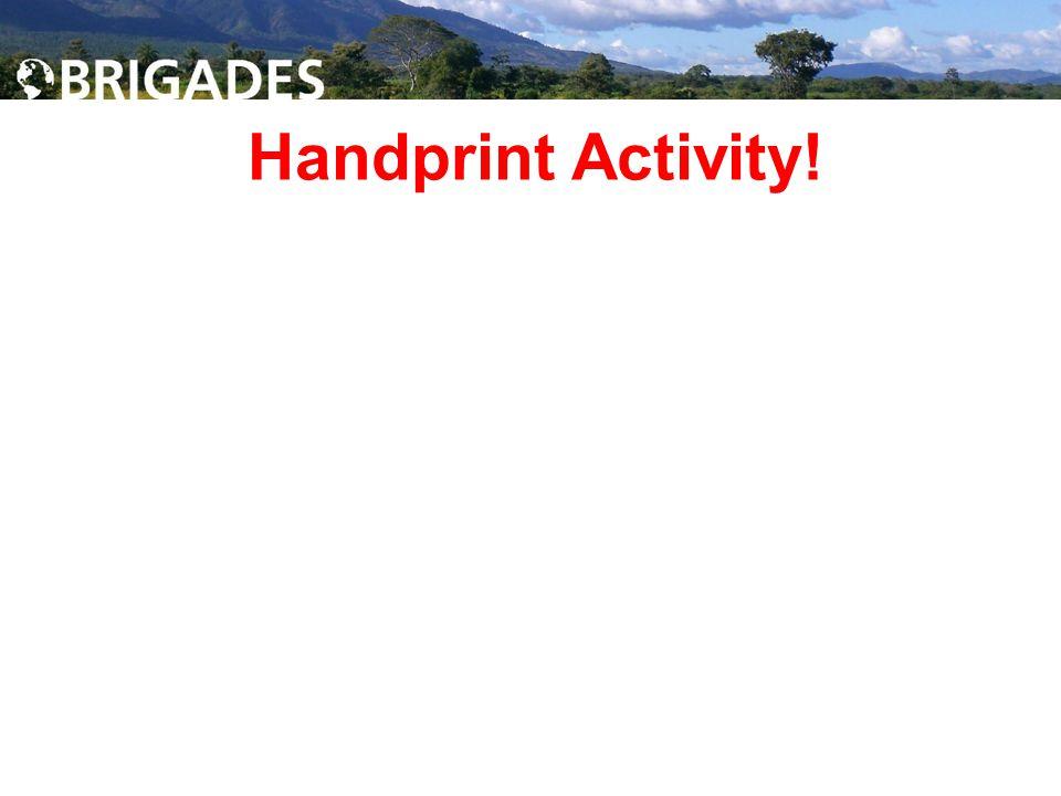 Handprint Activity!