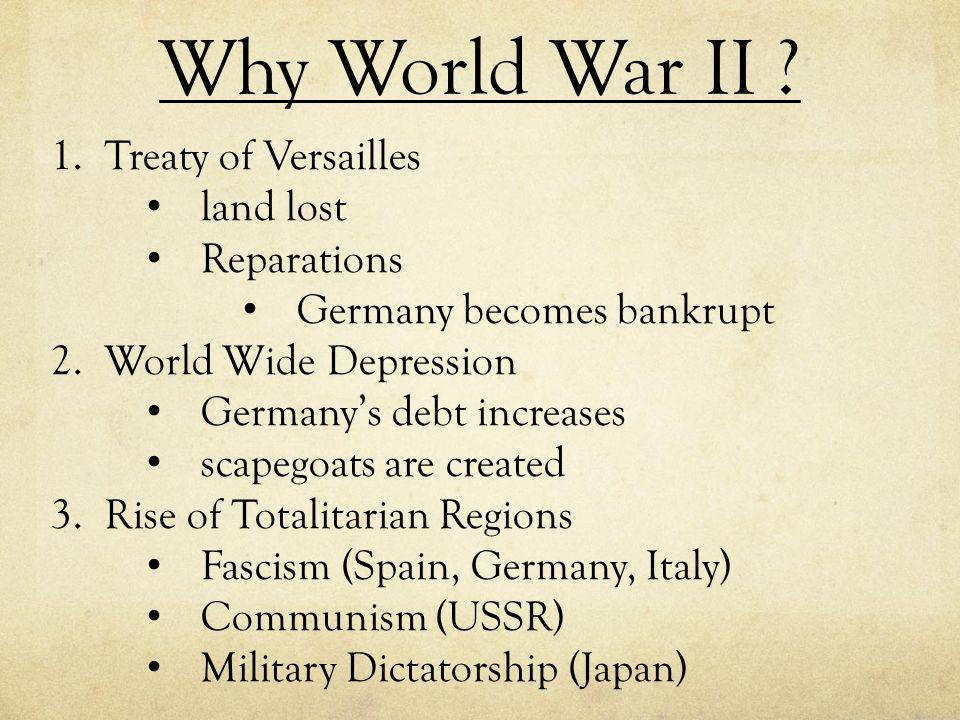 Why World War II .4.Isolationism U.S.A.
