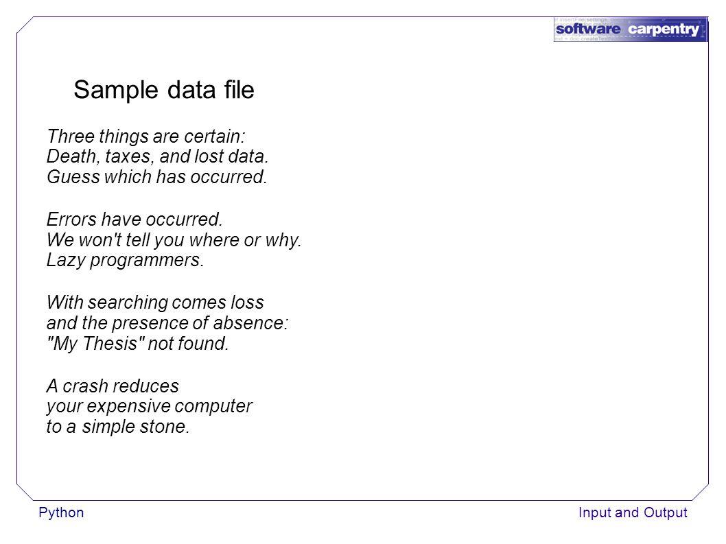 PythonInput and Output Copy a file