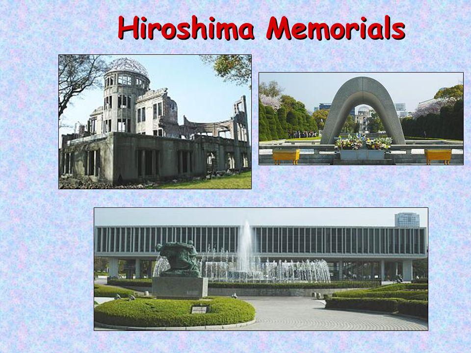 Hiroshima Memorials
