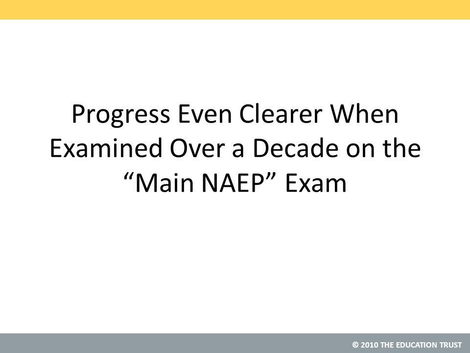 © 2010 THE EDUCATION TRUST Source: 1996 NAEP Grade 4 Math NAEP Data Explorer, NCES