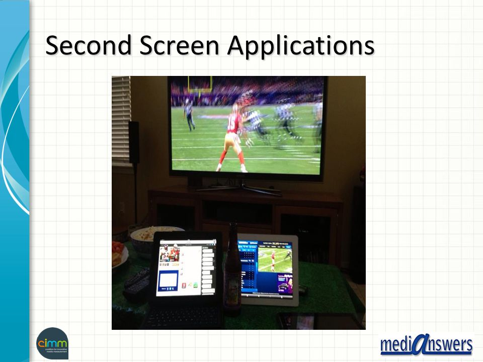 Second Screen Applications
