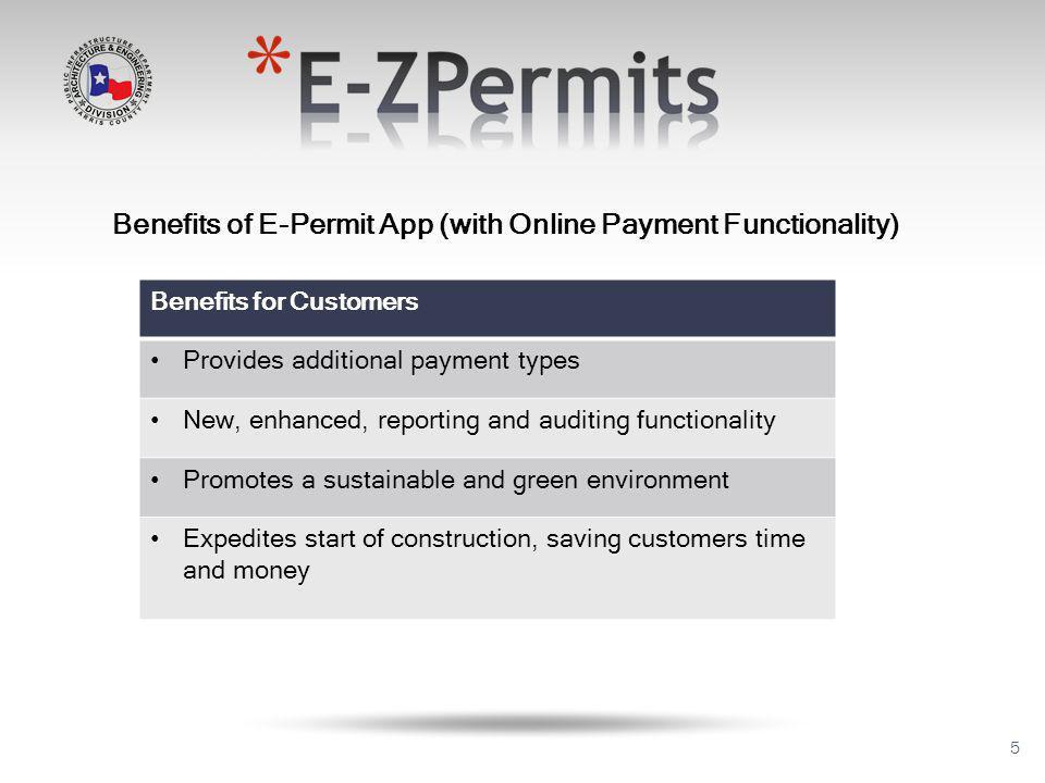 16 Application Property Information