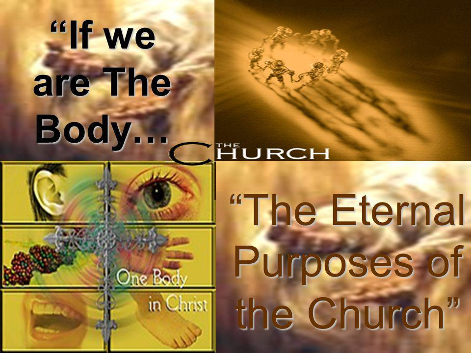 The Eternal Purposes of the … To DISPLAY the eternal wisdomTo DISPLAY the eternal wisdom of God.