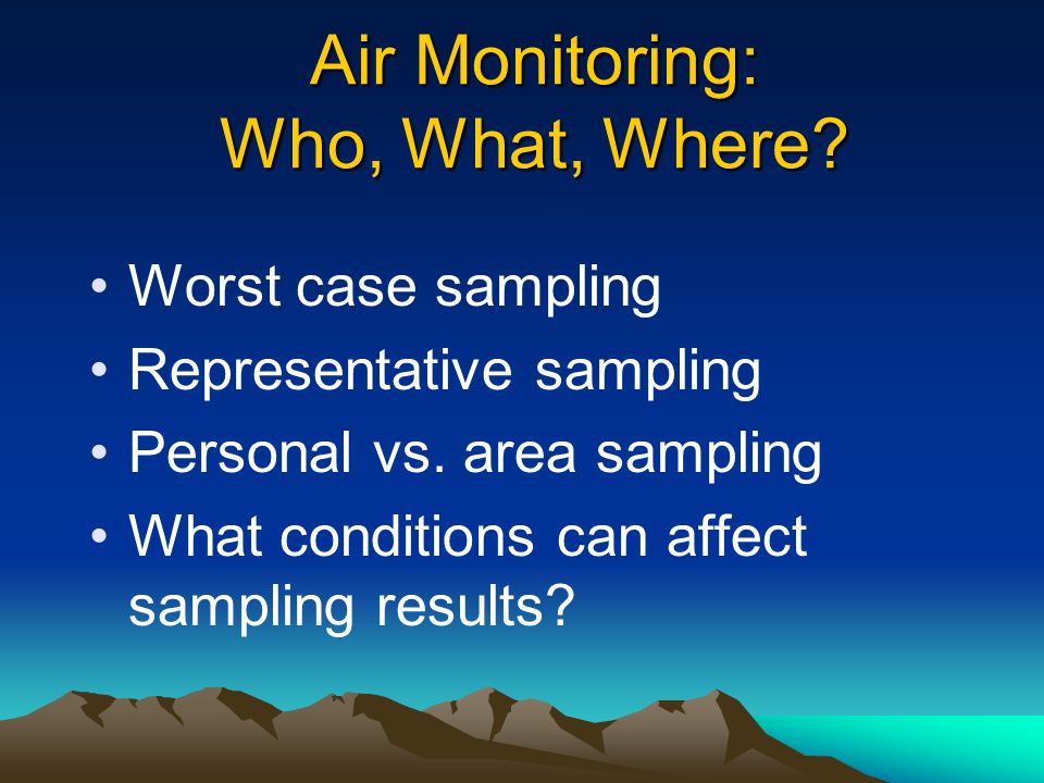 Substance Specific Requirements Air monitoring Control of exposure Work practices Respiratory protection Medical surveillance –medical removal (lead)