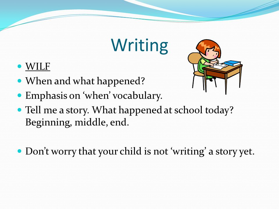 Sentences…already.When reading to your child, don't be afraid of punctuation.