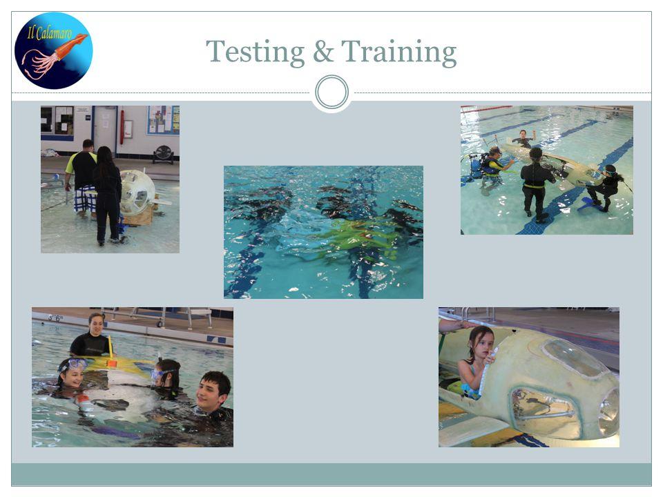 Testing & Training