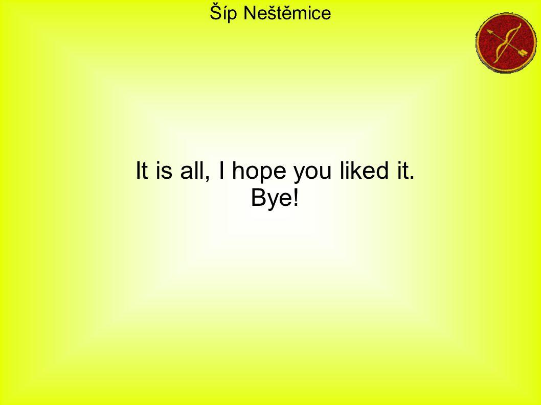 Šíp Neštěmice It is all, I hope you liked it. Bye!