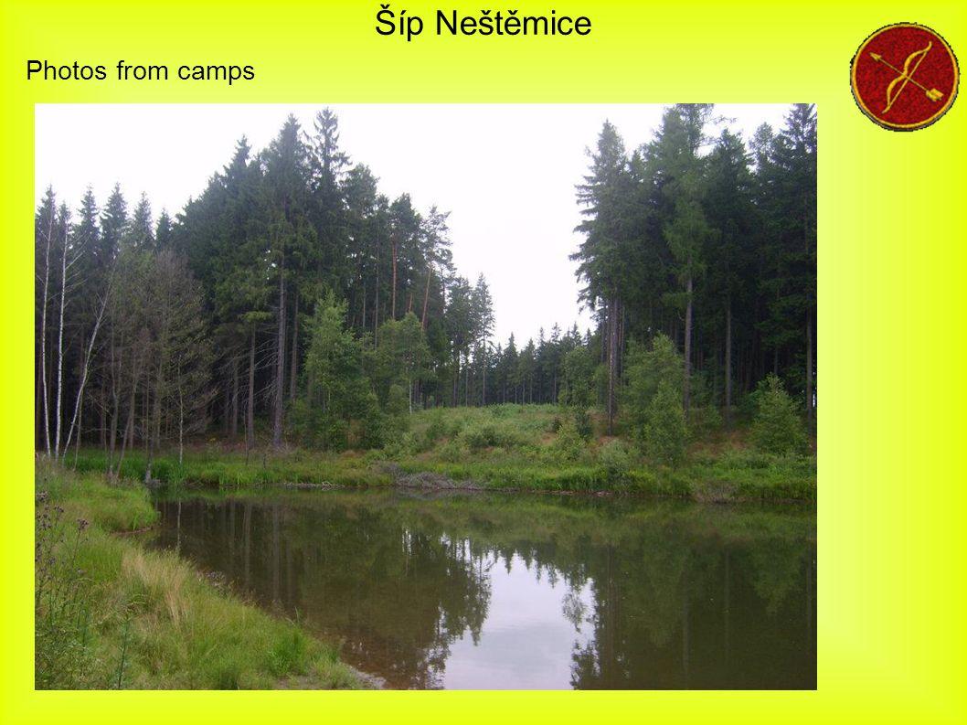 Šíp Neštěmice Photos from camps