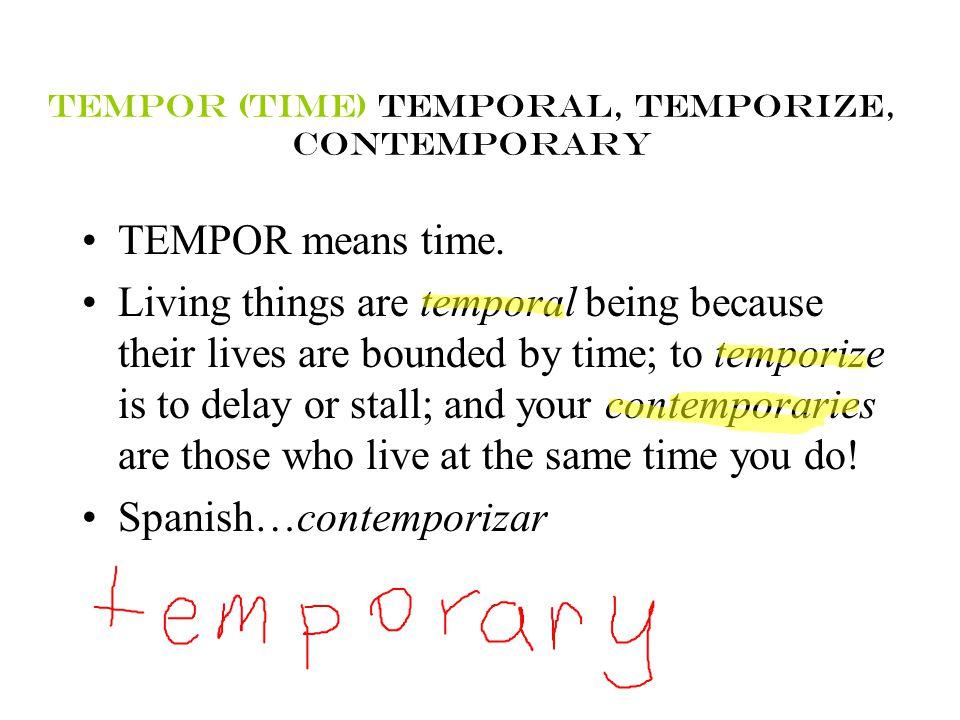 Caesar's English II Lesson IX (9) STEMMEANINGWORD mar-seasubmarine junct-joinconjunction luc-lighttranslucent tempor-timetemporary medi-middlemedium