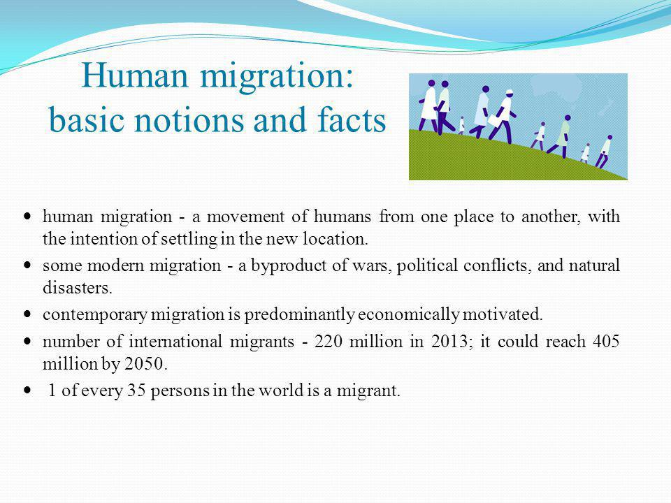 Immigration and economic security  labour migration → can be argued to pose a threat to the economic security of both the sending and the receiving state;  the emigration of highly skilled and qualified workers from developing countries:  brain drain in the sending country,  undesirable economic consequences in the receiving country.