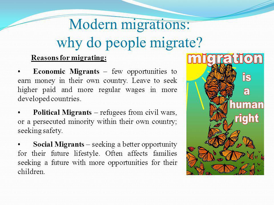 Summary and conclusion (1)  immigration poses a number of challenges to receiving states;  it is inevitable that immigration would be viewed as a threat to society and the economy, as well as to internal security and public order;  however, immigration is a perceived threat rather than an objective one.