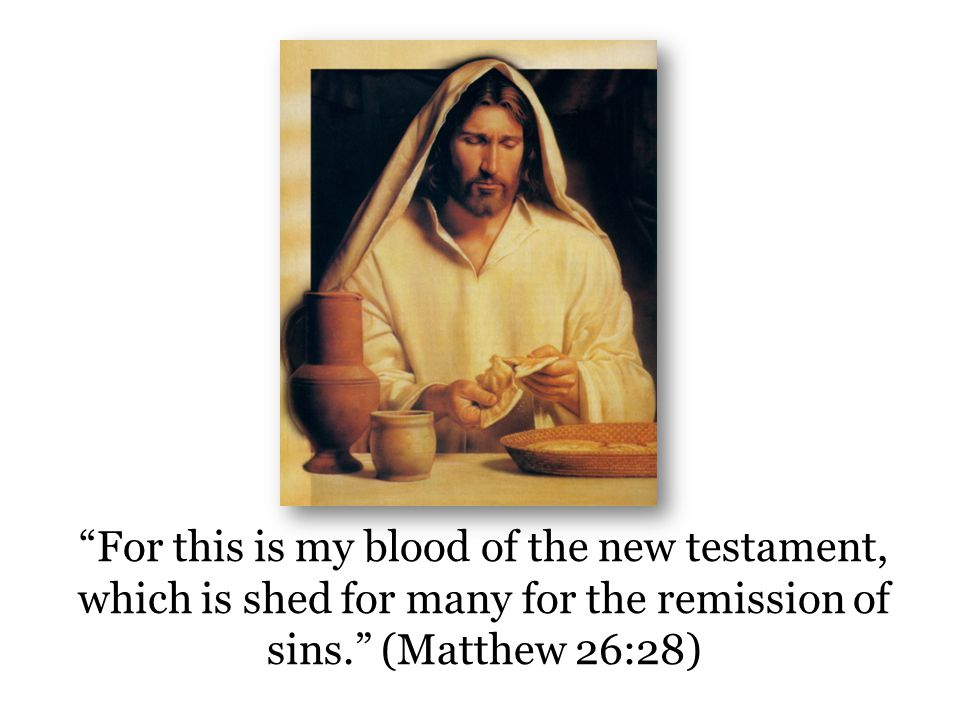 The New Testament = The New Covenant Christ is the messenger of the covenant (Mal.