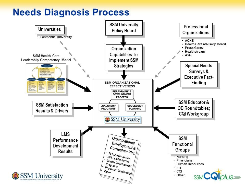 15 Needs Diagnosis Process Organizational Development & Curriculum Plan 101 Leader Series 201 Leader Series Leader Development Programs Physician Lead