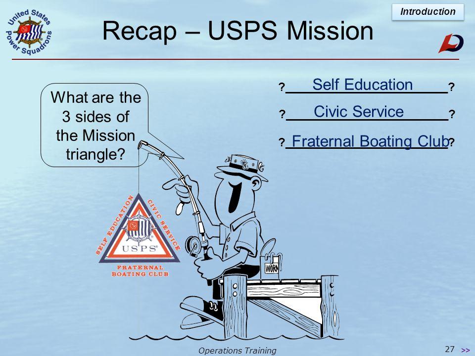Operations Training Merit Marks Introduction Senior Member 5 merit marks ?_________________? Life Member 25 merit marks ?_________________? 26 >>