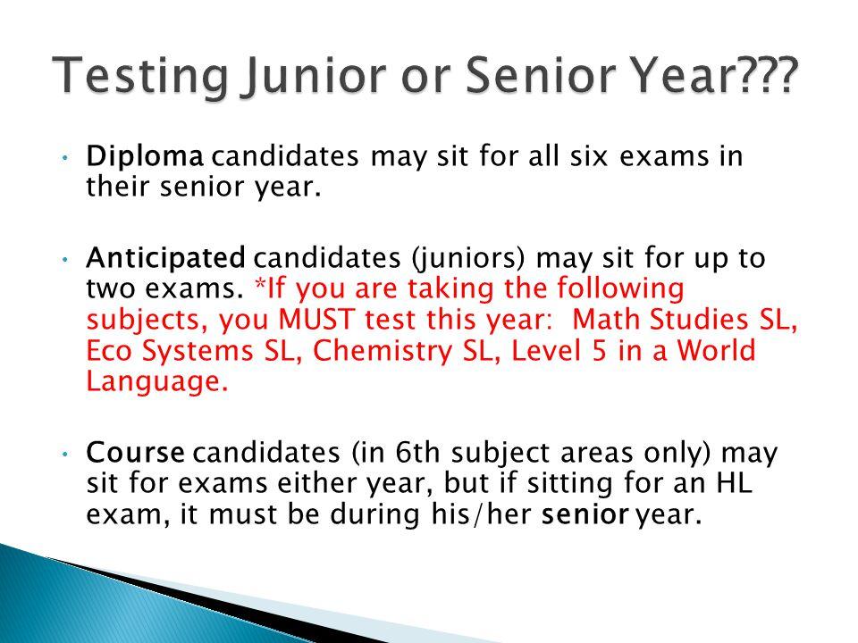 Fill out exam registration form.Get teacher signatures ASAP.