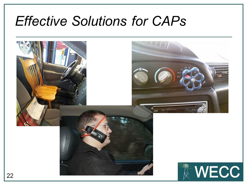 22 Effective Solutions for CAPs