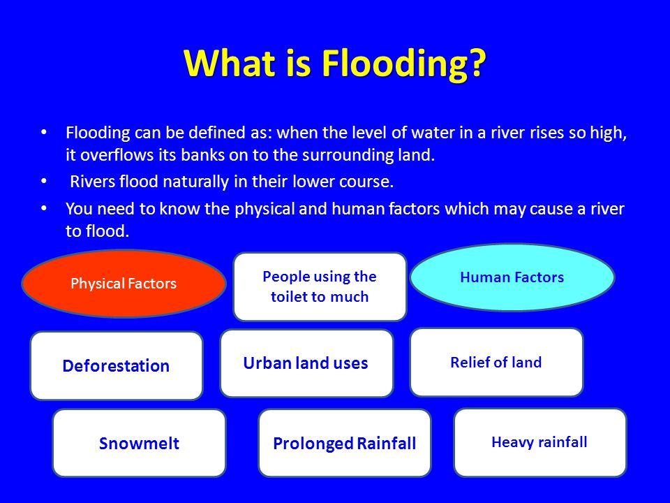 What is Flooding.